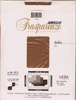 Strumpfhose Orginal Trasparenze Straps Muster Celestra Gr.3//38-40 Qualitäts