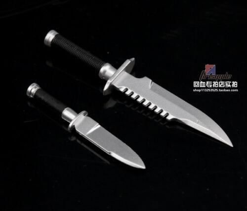 1//6 Scale 2 PCS Knives from Hot Toys MMS276 Commando John Matrix Figure