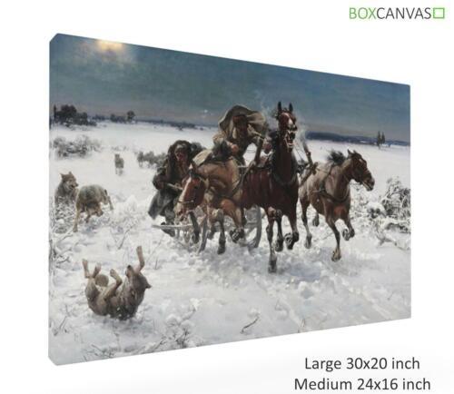 Alfred Kowalski Polish Realist 9 CANVAS PICTURE WALL ART