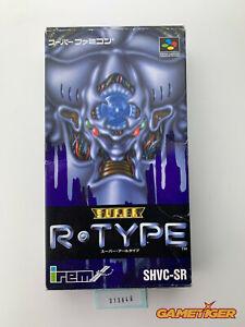 SUPER R-TYPE Nintendo Super Famicom SNES SFC JAPAN Ref:313646