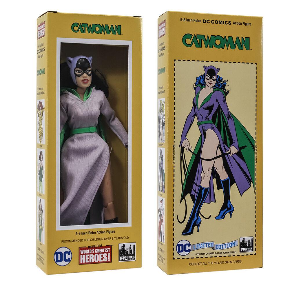 DC Comics Retro Style Boxed 8 Inch Action Figure Catwoman (Retro 5 Purple Dress)