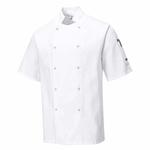 Cumbria Chefs Kitchen Workwear Jacket Portwest