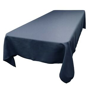 Charmant Image Is Loading 60 X 144 Inch Rectangular SimplyPoly Polyester Tablecloth
