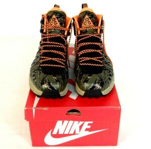dc76cfc107 Image is loading Nike-ACG-Zoom-Meriwether-Posite-Green-Camouflage-Boot-