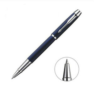 Original-Parker-IM-Series-Matte-Blue-Color-Rollerball-Pen