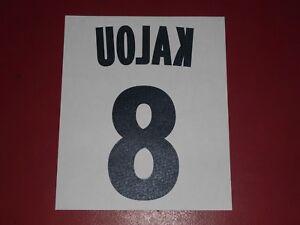 NAMESET FLOCAGE OFFICIEL ROUX LILLE//LOSC THIRD 2012//2013