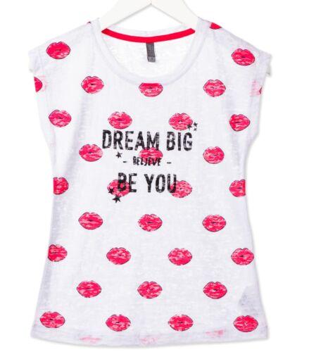 LOSAN Neu T-Shirt Shirt Mädchen Surfers Gr 128 140 152 164 170  814-1027AB