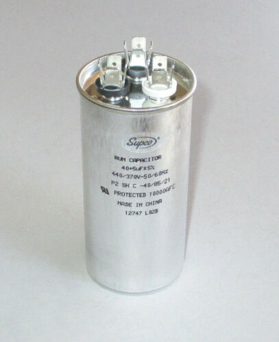 Dometic Duo-Therm 3310712.009 Run Capacitor 40+5 mfd RV Camper Air Conditioner