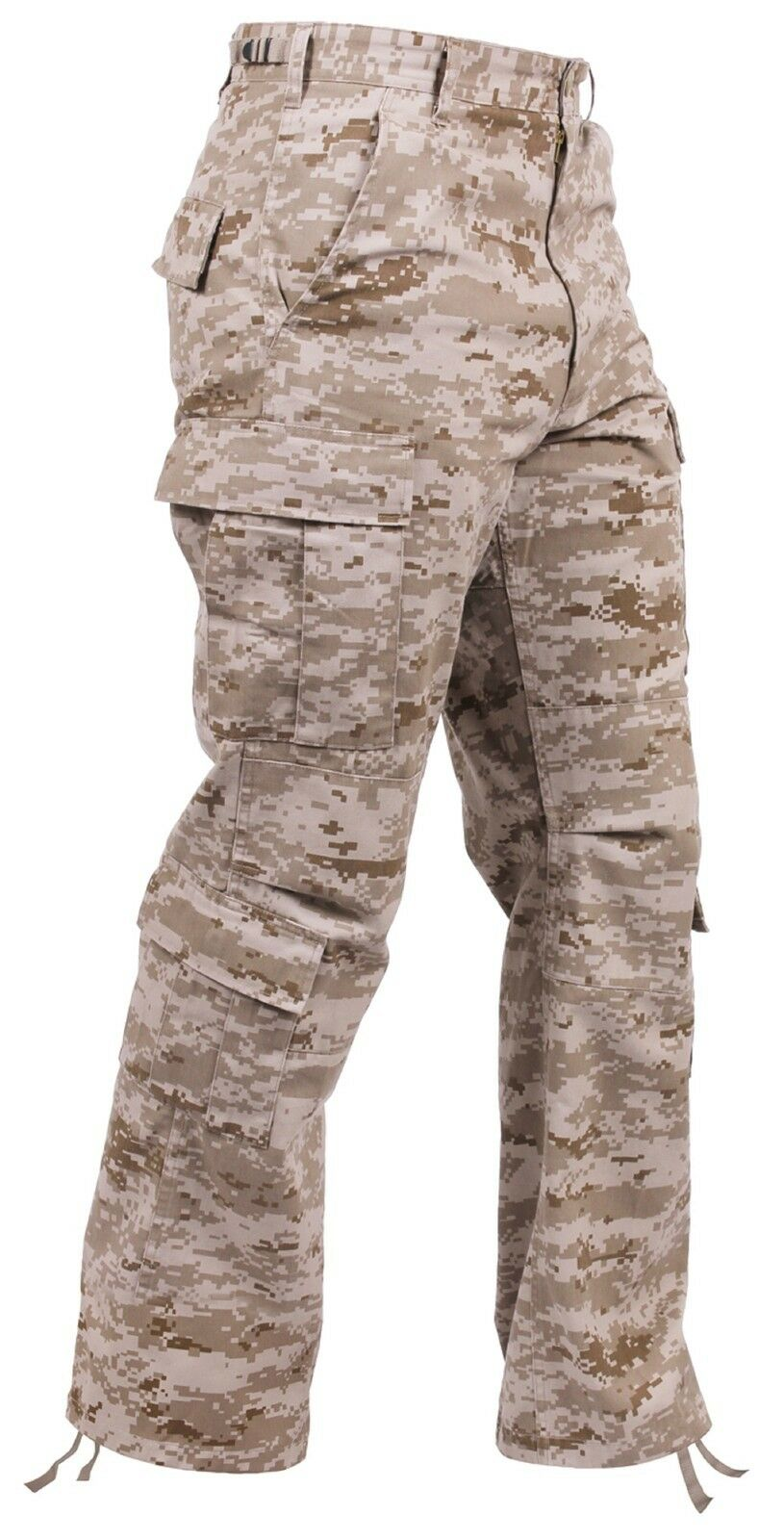 Men's Desert Digital Camouflage Military Fatigue Cargo Pants S - 3XL NWT
