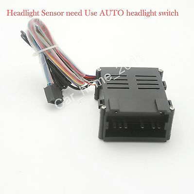 AUTO Headlight Sensor For VW Golf 4/New Bora/POLO 6R/Lavida/12 JETTA