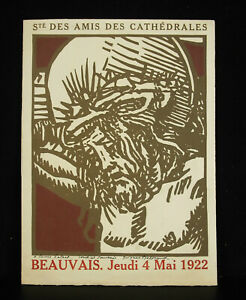 Jacques-Beltrand-IN-Louis-Enlart-1922-Wood-Engraved-Association-Friend-Cathedral