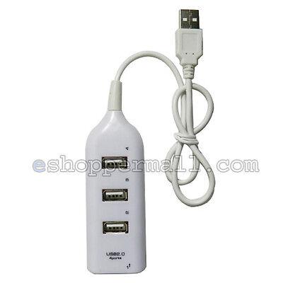 2X USB Hi-Speed 4 Port Multi Hub Expansion Splitter PC Laptop Notebook BN-28321