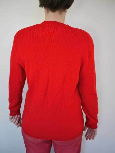 Equine Brass Vintage French W Cardigan Buttons 100 Red uld Sweater Horse TAEAqwP
