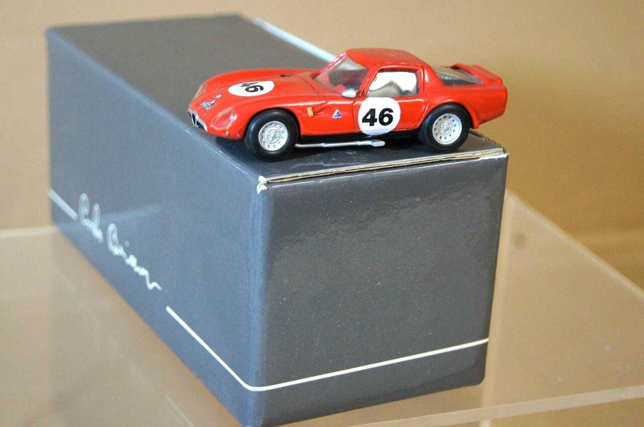 Abc Carlo Brianza 1965 Alfa Romeo Tz Zagato Le Mans Ar