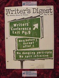 WRITER-039-S-DIGEST-May-1974-Isaac-Bashevis-Singer-Nancy-Henderson-Jack-Nusan-Porter