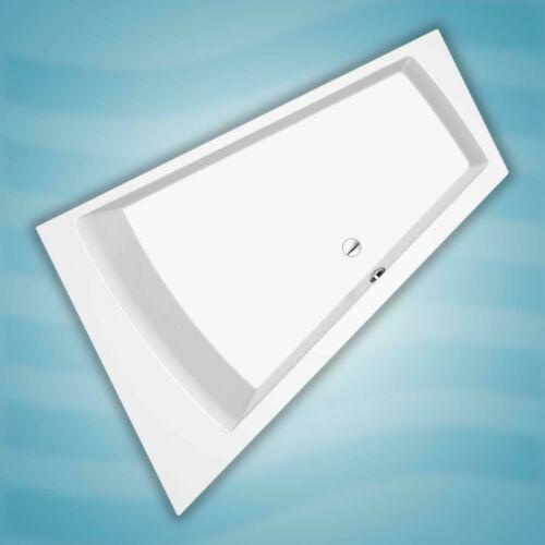 Raumsparbadewanne 180 x 130 x 46 cm R Modell Trelleborg Badfaszination