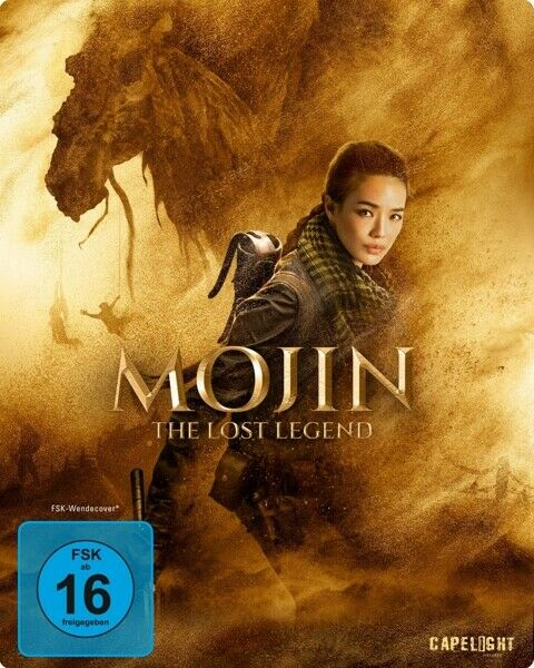 MOJIN: THE LOST LEGEND (COVER - WUERSHAN  LIMITED EDITION  BLU-RAY NEW