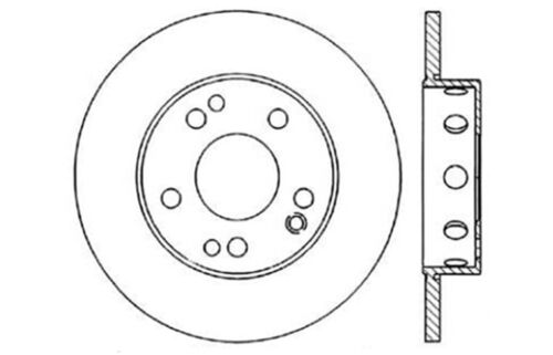Centric Parts 121.35010 Disc Brake Rotor 84-89 Mercedes Benz 96301R PRT1426