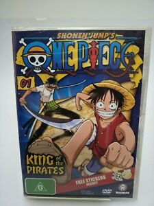 Shonen-Jump-039-s-One-Piece-Vol-1-DVD-2006-R4-PAL-King-Of-The-Pirates