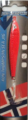 Meeresköder Ron Thompson Sea Jig 21g 28g 40g 60g Pilker Meeresangeln Dorsch