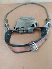Vintage Klein Linemans Climbing Safety Harness Belt Model No5447 Size Medium