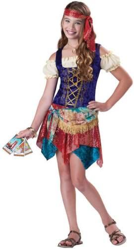 Meno recenti /& adolescenti Gypsy Pirata Halloween Costume Vestito 8-14 anni