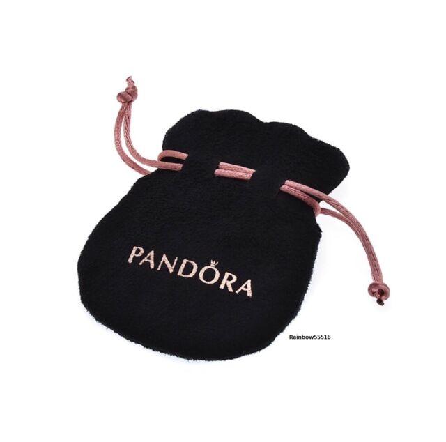 5304c954dab2 Pandora Jewellery Gift Pouch Bag Black Velvet for sale online