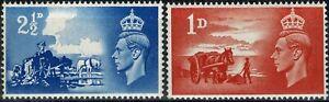 ROYAUME-UNI-1948-YT-n-239-240-neufs-Luxe-MNH