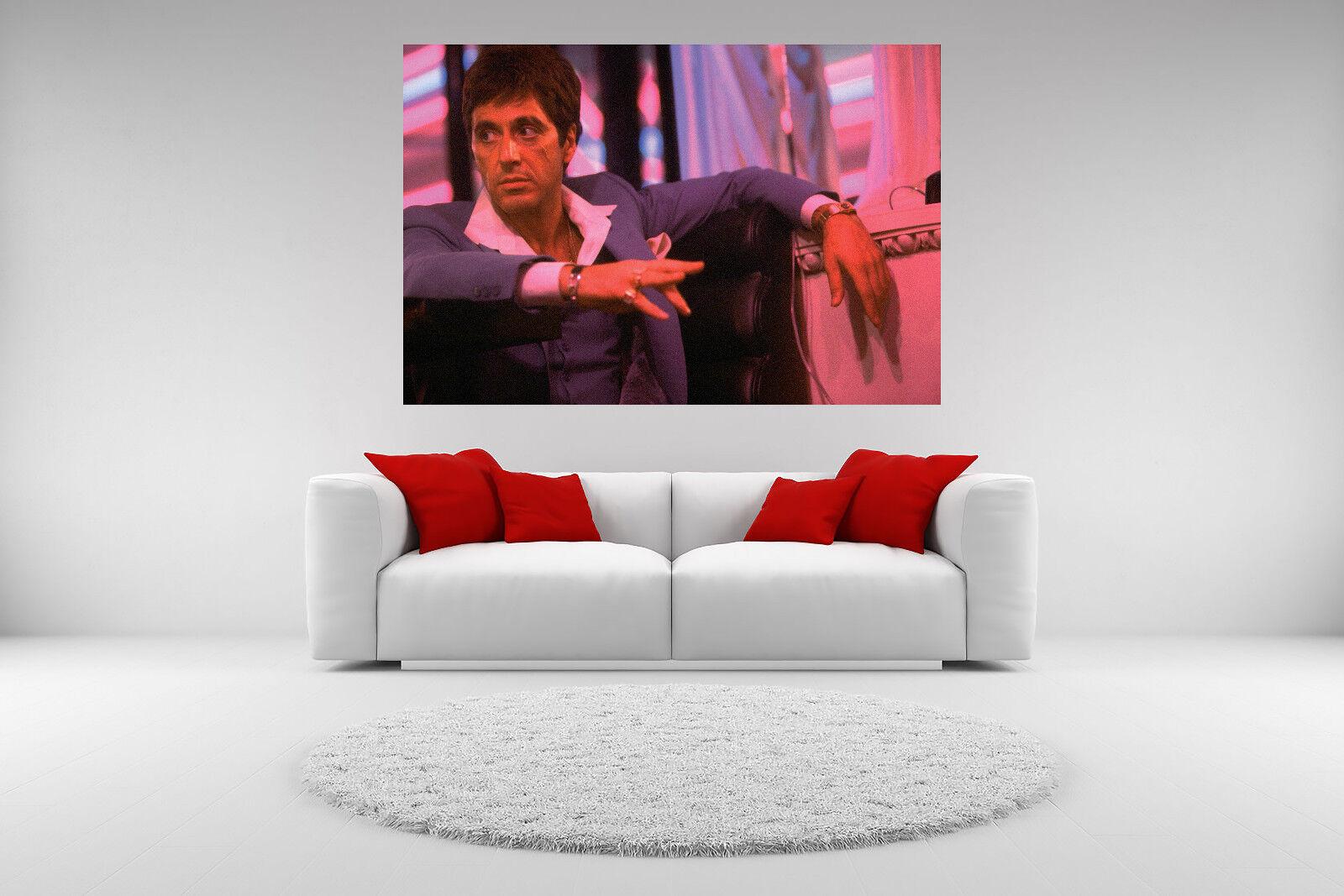 Scarface Al Pacino Canvas Babylon Club Giclee Print Unframed Home Decor Wall Art