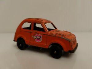 Vintage-Tootsietoy-Honda-Civic-Thrush-Orange-USA