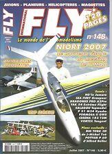 FLY N°148 PLAN : BIG TORK 3D - POTTIER P60 MINACRO / SALAGOU DE TOPMODEL / YAK54