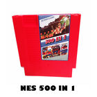 NES Game 500 in 1 Classic Nintendo System Video Games Cart Cartridge - Tested