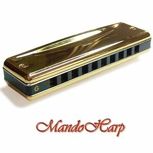 Suzuki Harmonica - MR-350VG Promaster Valved Gold (SELECT KEY) NEW