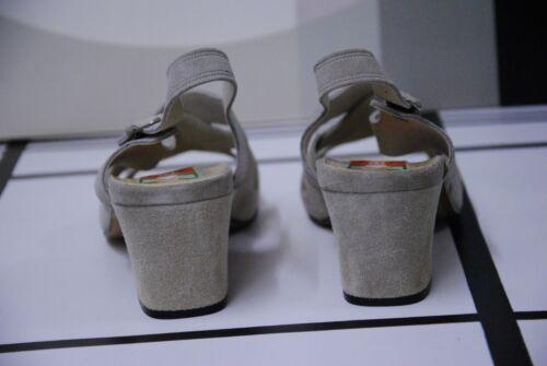 Grey Dans Annᄄᆭes en Sandals bungalow rishofer du 70 les peaux skinny chaussures Voir Lucie W vintage LqVpUjMSzG