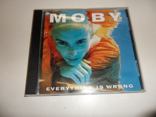 1 von 1 - CD  Moby - Everything Is Wrong