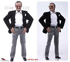 "Stan Lee artistic conception figurine 12"" figure (1:6) Phicen Limited DTP.01"