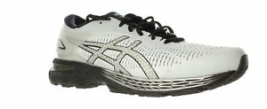 ASICS-Mens-Gel-Kayano-25-Gray-Running-Shoes-Size-10-Wide-1239368