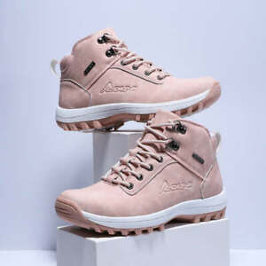 Women-039-s-Waterproof-Snow-Boots-Ankle-Shoes-Winter-Warm-Outdoor-Walk-Shoes-Casual