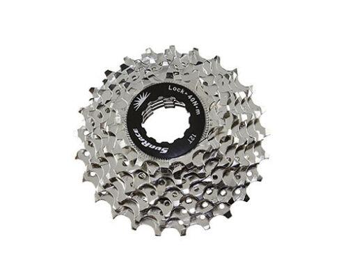 Nouveau Vélo 8 Vitesse Cassette 12//25t Index CSR-86 Nickel Sun Race Mountain bike fixie