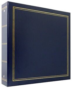 MCS-Library-Collection-400-Pocket-4-034-x6-034-Photo-Album-in-Blue