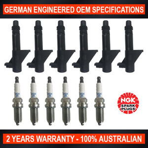 6x-Genuine-NGK-Platinum-Spark-Plugs-amp-6x-Ignition-Coils-for-Renault-Laguna-BG