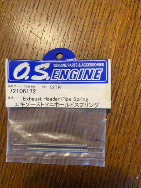 OS 72106172  Header Pipe Spring for .18TM Engine for Traxxas T-Maxx /& Revo