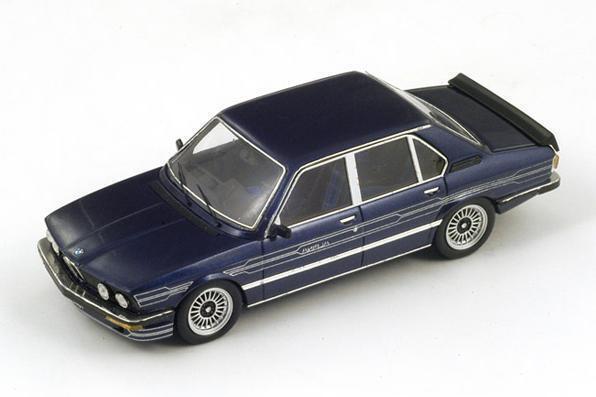 BMW Alpina B7 S Turbo (E12)  azul Metalic  (Spark 1 43   S2804)  LAST PIECE