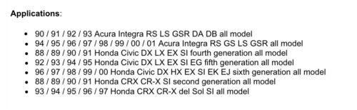 Fit HONDA CIVIC CRX DEL SOL ACURA INTEGRA MANUAL 5 SPEED SHORT THROW SHIFTER