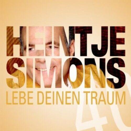 Heintje Simons - Lebe Deinen Traum [New CD]