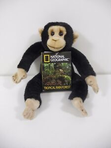 LELLY 770836 PELUCHE SCIMPANZE/' CM.31 NATIONAL GEOGRAPHIC