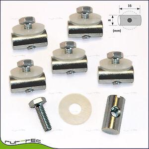 6er-Set Kederstopper - Kederschiene Wohnwagen/Wohnmobil • Keder Stopper Bolzen