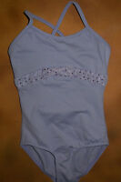 Bloch Dance Lilac Cami Leotard Sequin Bow Extra Small Child 2/4 Cl7697