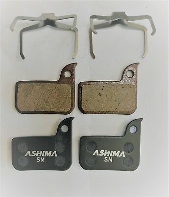 Ashima Set 4 Pastiglie Freno Per Sram Red Semi Metalliche Grandi Varietà
