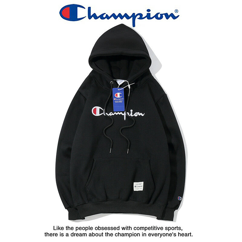 3eb884fe34c2 Men s Classic Champion Hoodies Embroidered Hooded Sweatshirts Women s  Outwear